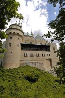 Free Castle Bojnice Royalty Free Stock Photography - 1286607