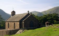 St.James Church,Buttermere,Lake District Royalty Free Stock Image
