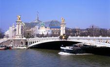 Free Pont Alexandre III Stock Photos - 1287363