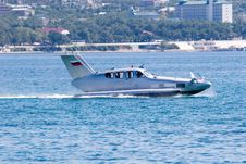 Free Airfoil Boat Stock Photography - 1288142