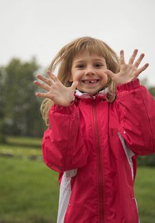 Free Girl In Red Jacket Stock Photos - 1288343