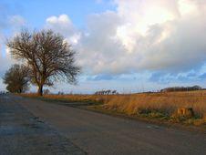 Free Autumn Road Stock Photo - 1288900