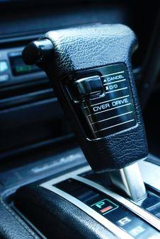 Free Gear Shifter Royalty Free Stock Photo - 1289025