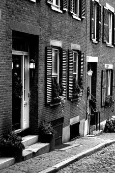 Free Beacon Hill, Boston Royalty Free Stock Photo - 1289775
