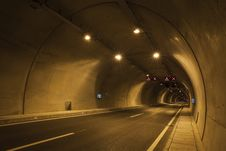 Free Empty Road Tunnel Stock Photos - 128037643