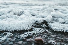 Free Closeup Photo Of Water Bubbles Royalty Free Stock Photos - 128037688