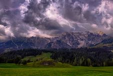 Free Time Lapse Photography Of Lightning And Clouds Royalty Free Stock Photo - 128037795