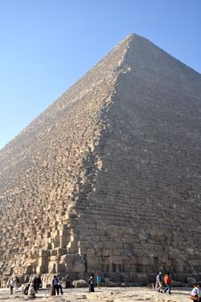 Cheops Pyramid 2 Stock Image