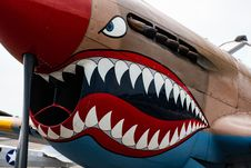 Free Close-up Photography Of Fighter Plane Royalty Free Stock Image - 128193826