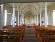 Free Place Of Worship, Chapel, Aisle, Parish Stock Images - 128257094