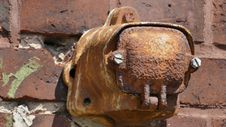 Free Snout, Rust, Metal Royalty Free Stock Photos - 128257998