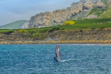 Free Water, Windsurfing, Sea, Coastal And Oceanic Landforms Stock Photo - 128258070