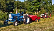 Free Agricultural Machinery, Tractor, Vehicle, Field Royalty Free Stock Photography - 128258087