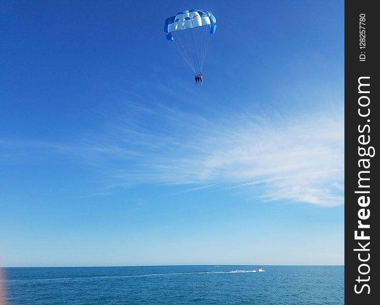Sky, Parasailing, Parachute, Air Sports