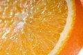 Free Juicy Orange Slice Very Close-up Stock Photos - 12830393