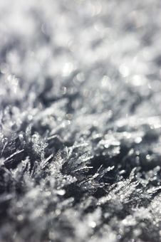 Free Snow Crystals Stock Images - 12839894