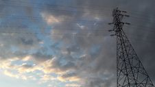 Free Sky, Cloud, Transmission Tower, Electricity Stock Photos - 128357163
