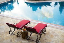 Free Sunlounger, Furniture, Outdoor Furniture, Table Royalty Free Stock Image - 128357316
