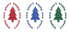 Free 3 Christmas Tree Royalty Free Stock Image - 12846256