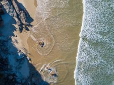 Free Aerial Photography Of Sea Stock Photos - 128405123