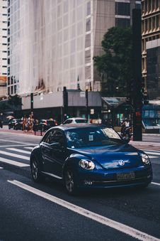 Free Photo Of Volkswagen Car On Road Royalty Free Stock Photo - 128405415