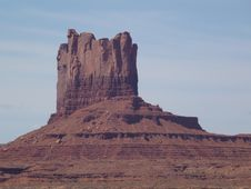 Free Butte, Historic Site, Mountainous Landforms, Badlands Stock Photos - 128440473