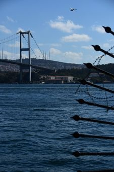 Free Istanbul Bosphorus Bridge. City Royalty Free Stock Photo - 128484675