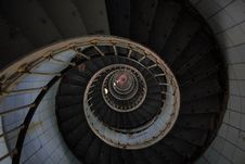 Free High Angle Photo Of Spiral Stairs Royalty Free Stock Photo - 128558225