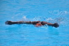 Free Water, Swimming, Swimmer, Sea Stock Images - 128612884
