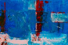 Free Abstract Painting Stock Photography - 128687712