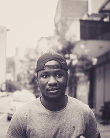 Free Monochrome Photo Of Man Wearing Cap Stock Photography - 128807932