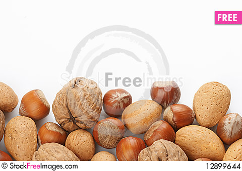 Free Assortment Of Nuts Stock Images - 12899644