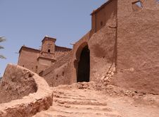 Free Kasbah - Morocco Stock Images - 12898864
