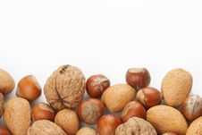 Assortment Of Nuts Stock Images