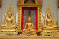 Free One Small Buddha, Two Big Buddhas Stock Image - 1291791