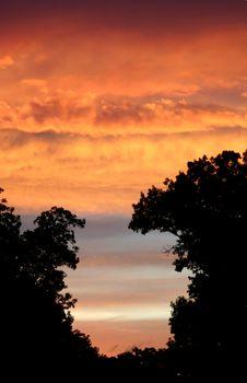 Free Sunset Stock Photography - 1290482