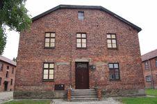 Free Hospital At Auschwitz Royalty Free Stock Photos - 1290758