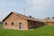 Free Barracks At Auschwitz II- Birkenau Stock Photo - 1290950