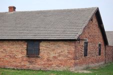 Free Barracks At Auschwitz II- Birkenau Stock Images - 1291034