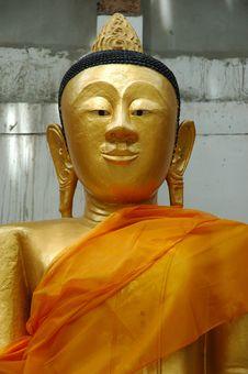 Free Gold Buddha Stock Image - 1291771