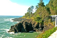 Free Coastal Bridge Stock Photography - 1292112