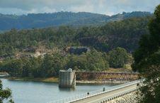 Free Hinze Dam Royalty Free Stock Image - 1292256