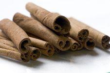 Free Cinnamon Sticks. Royalty Free Stock Photo - 1292465