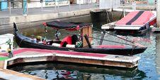 Free Venetian Gondola Stock Image - 1292701