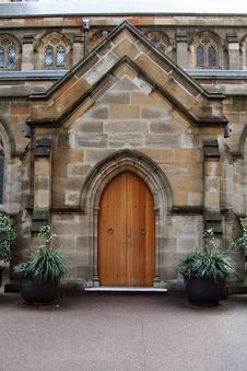 Free Church Door Royalty Free Stock Photo - 1292705