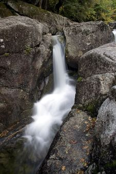 Free Cool Mountain Brook Waterfall Stock Photography - 1293782