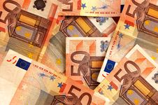 Free Euro Background Stock Photography - 1294022