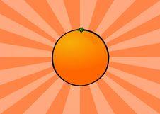 Free Radiant Orange Stock Photography - 1294252