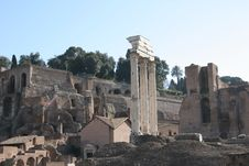Free Roman Forum Royalty Free Stock Image - 1295176