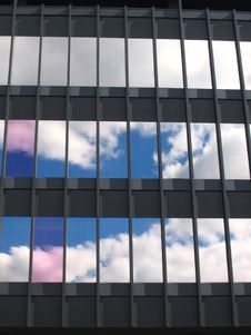 Free Blue Sky Windows Royalty Free Stock Photography - 1296137